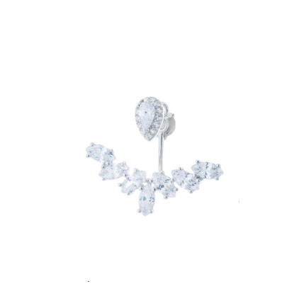 Dessous de lobe diamants