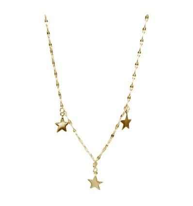 Collier Étoiles or