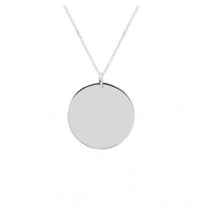 Collier JADE argent Personnalisable