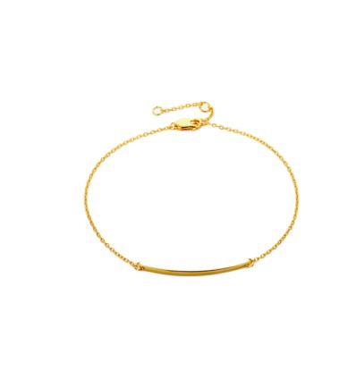 Bracelet branche de diamants argent